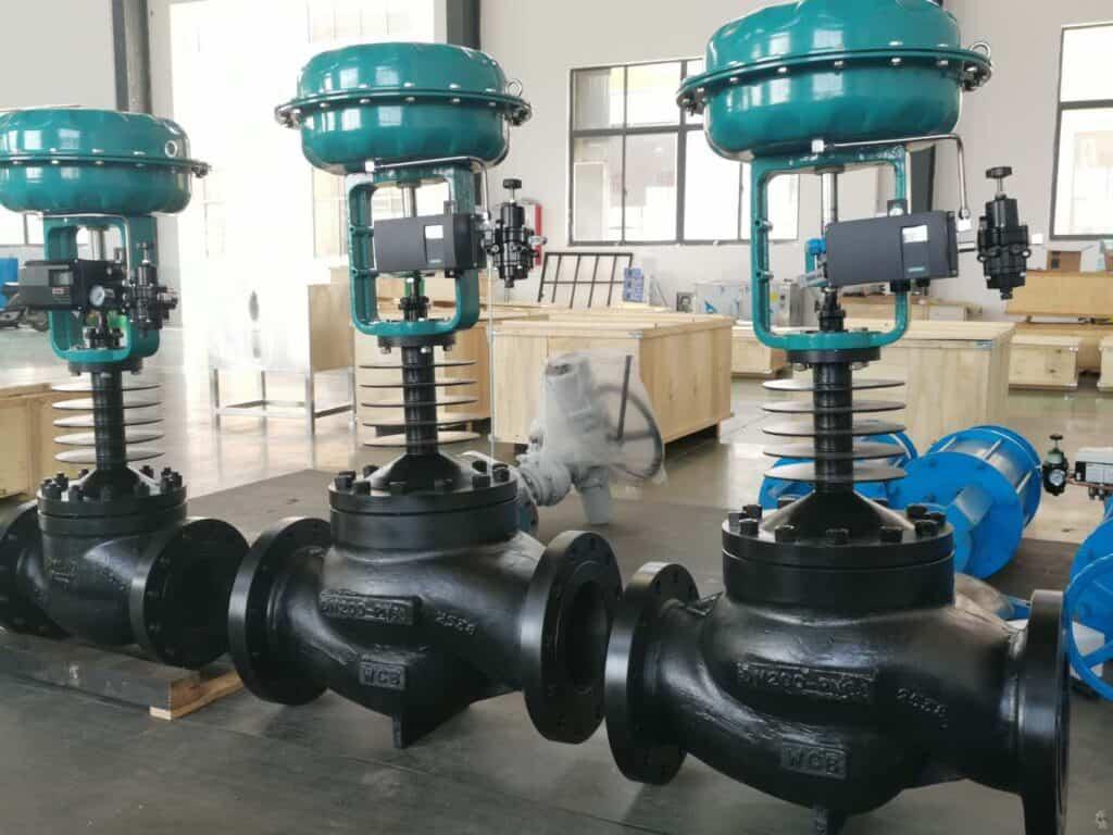 High pressure pneuamtic globe control valve of BCST