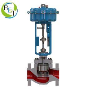 KBCL pneumatic globe control valve