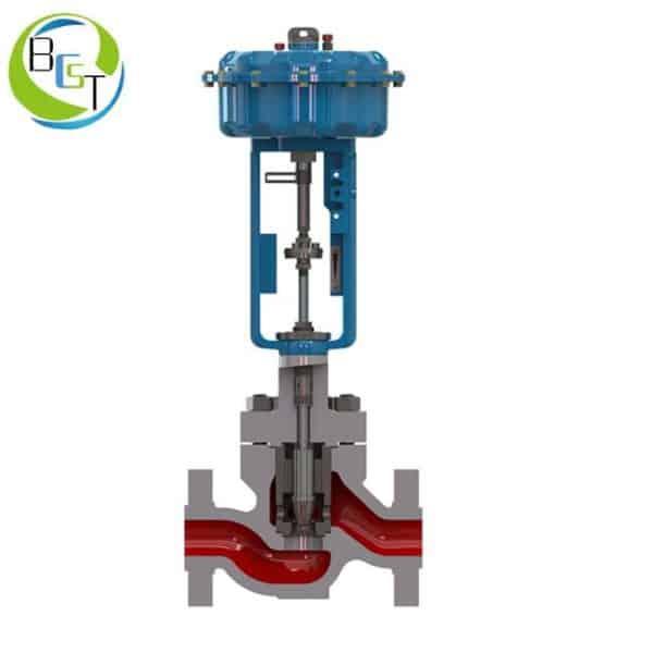 KTSL-G pneumatic globe control valve