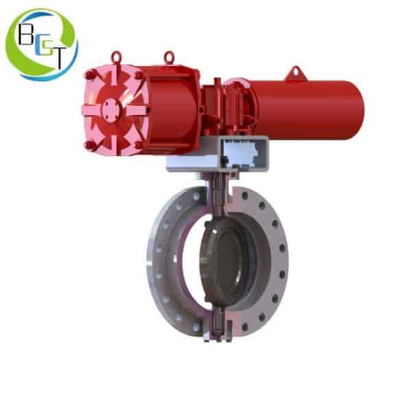 NEB-Triple-eccentric-butterfly-valve