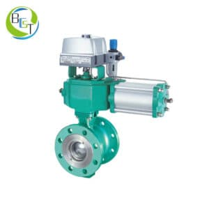 Pneumatic V Notch Segmented V-ball Control Valve