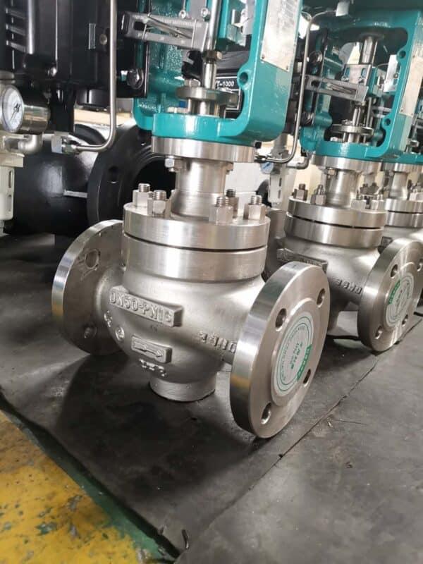 WCB-pneumatic-control-valve