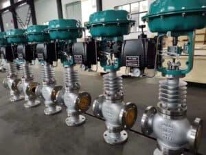 three way pneumatic control valve