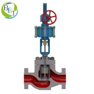 High pressure pressure balance sleeve single seat control valve