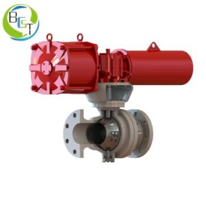 O Type High Pressure Ball Valve 2