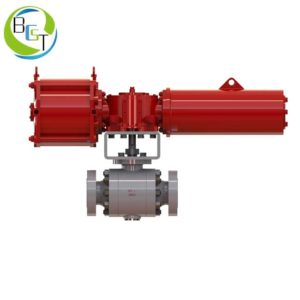 O Type High Pressure Ball Valve