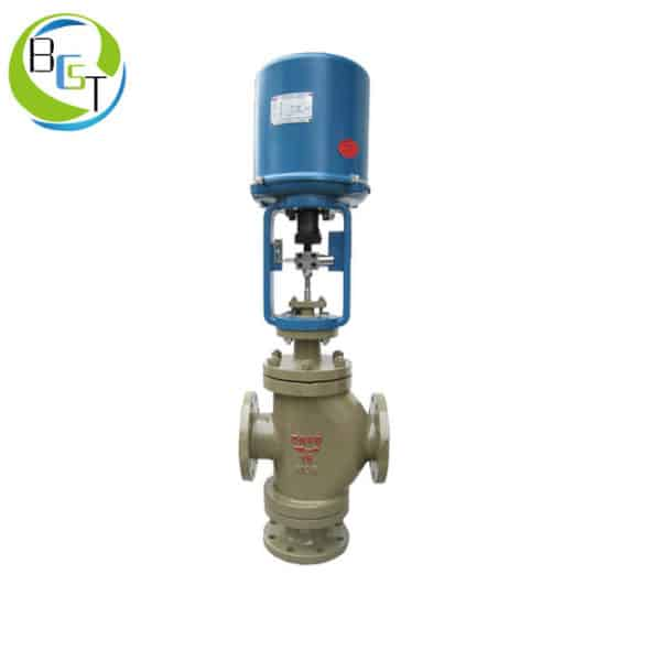 Zwzn Electric Double Seated Globe Control Valve