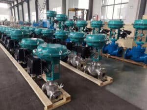 How a pneumatic globe control valve is produced at BCST
