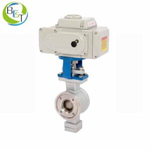 V Port Segmented Ball Valve 2