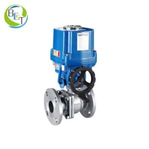Electric Actuatored Ball Valve