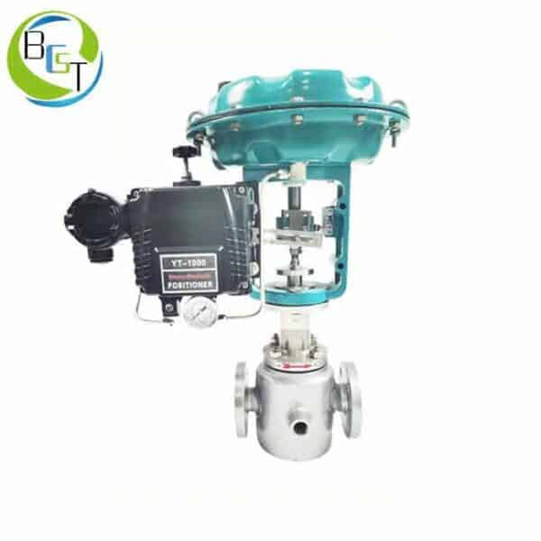 Pneumatic Control Valve With Jacket 1