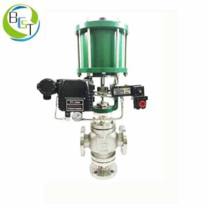 Pneumatic Three Way Control Valve Bcst